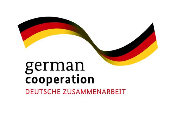 Logo german cooperation – DEUTSCHE ZUSAMMENARBEIT.