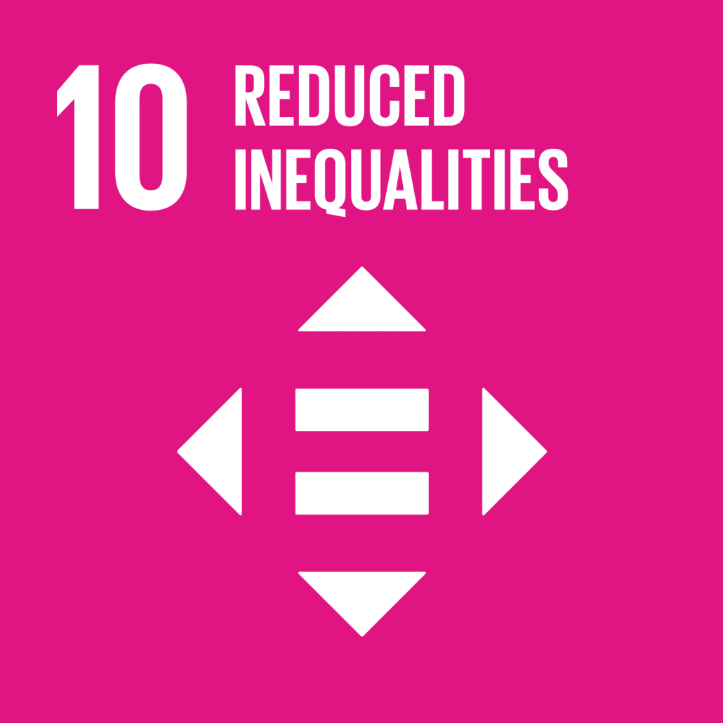 Information on project aiming to reach Sustainable Development Goal 10: Reduced Inequalities.