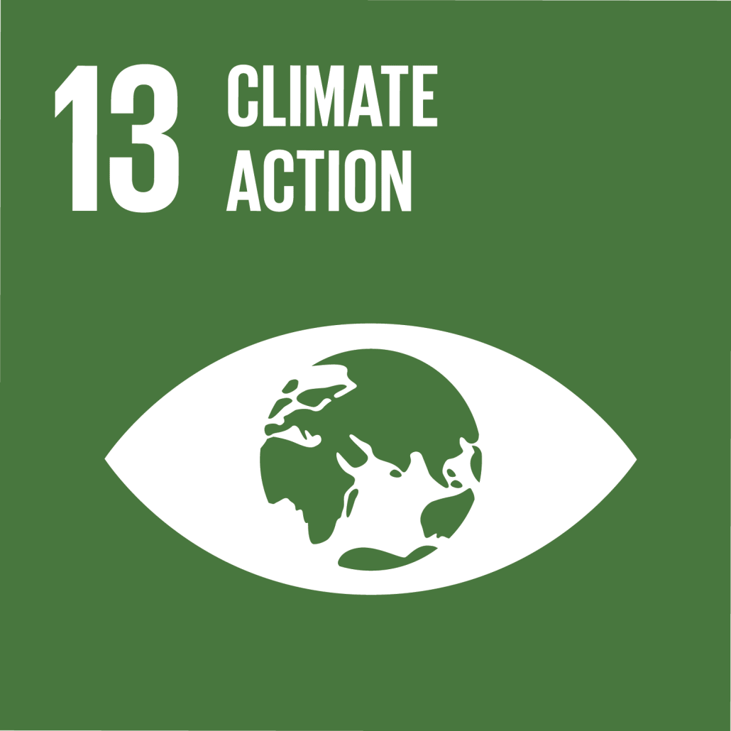 Information on project aiming to reach Development Goal 13: Climate Action.