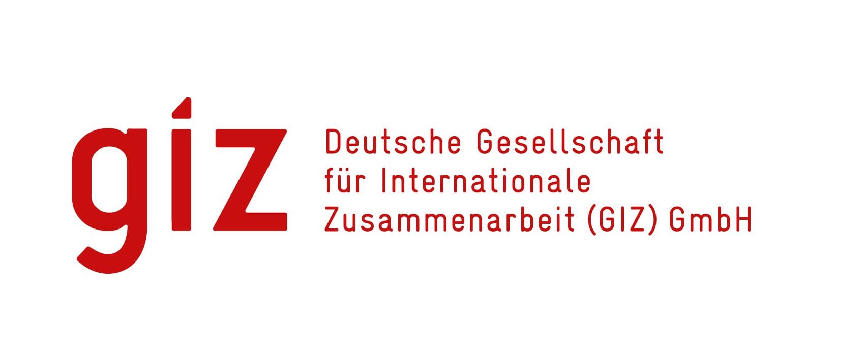 Logo GIZ – Deutsche Gesellschaft für Internationale Zusammenarbeit